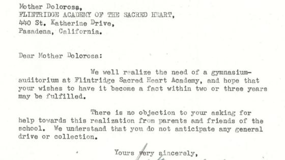 1954 Letter