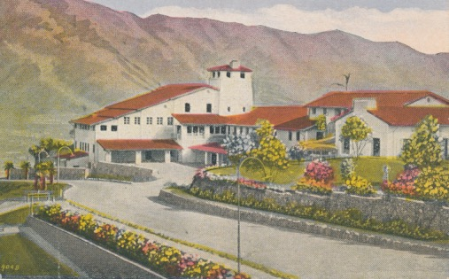 Flintridge Hotel Postcard