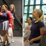 Students Scream & Cry with Joy at First Glimpse of Arts Center