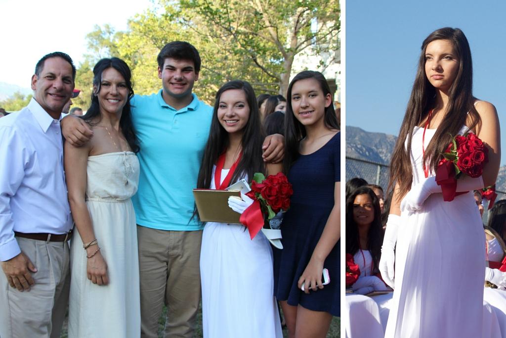 Carly graduates from FSHA, an all-girls school