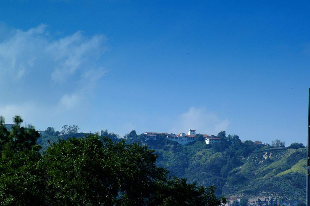 Flintridge Sacred Heart Academy view