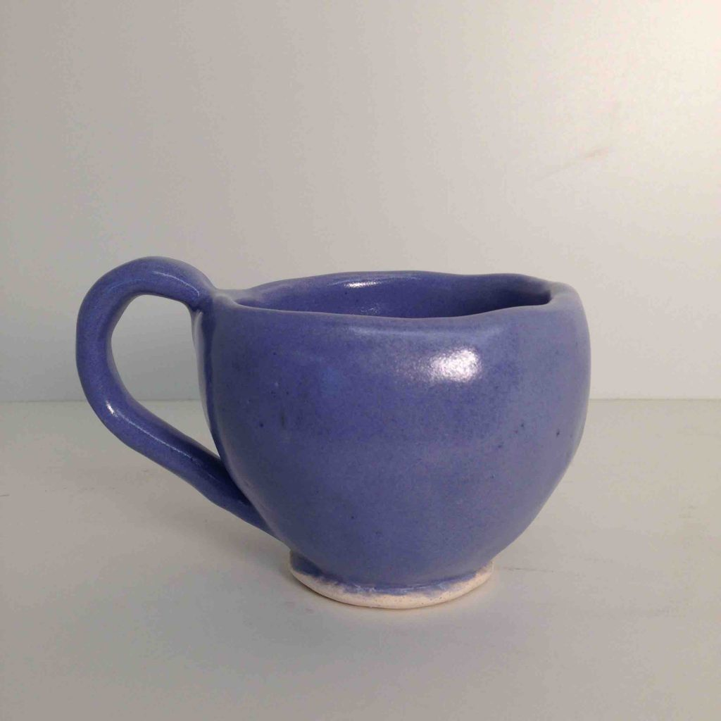 Pinch Cup by Megan Lund '19, Ceramics 1