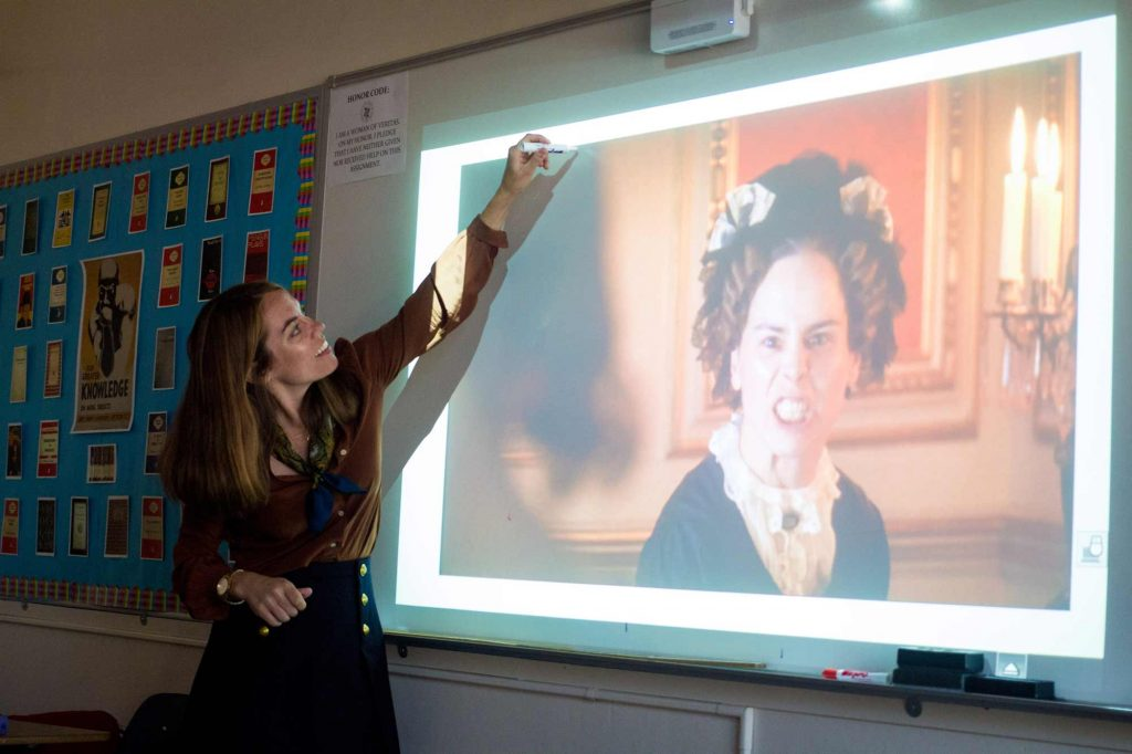 "Ms. Wilkinson helps her students decode this scene from a screen adaptation of ""Jane Eyre"""