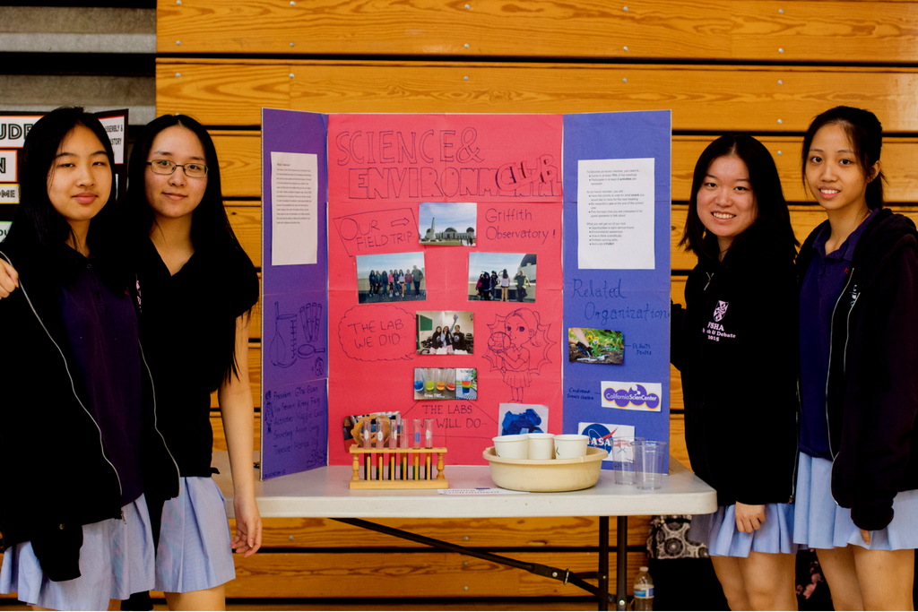 science and environment club at FSHA