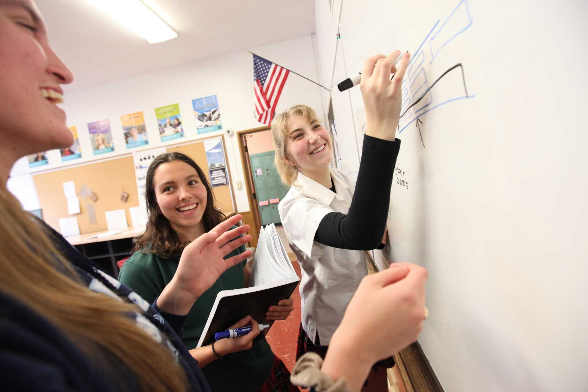 Students at Flintridge Sacred Heart pursue truth