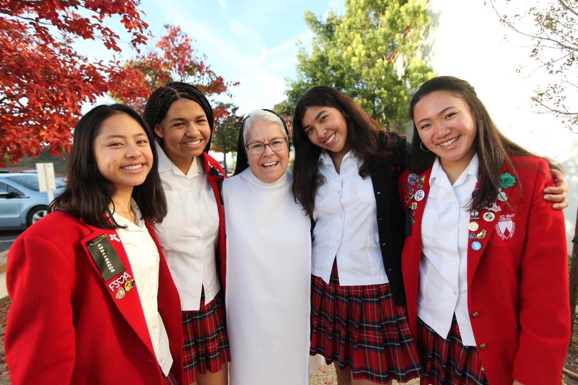 sisters at Flintridge Sacred Heart
