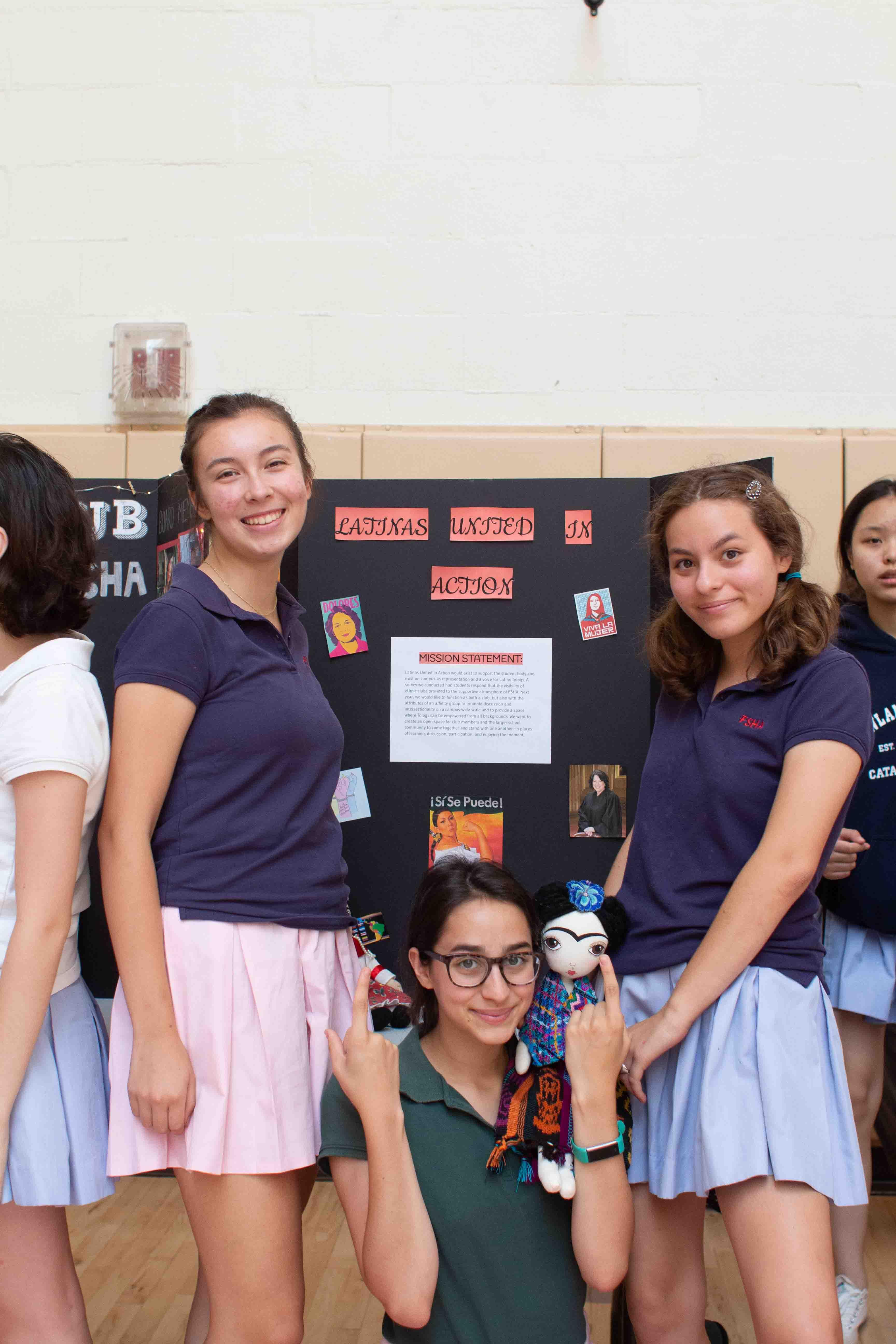Latinas United in Action Club at FSHA