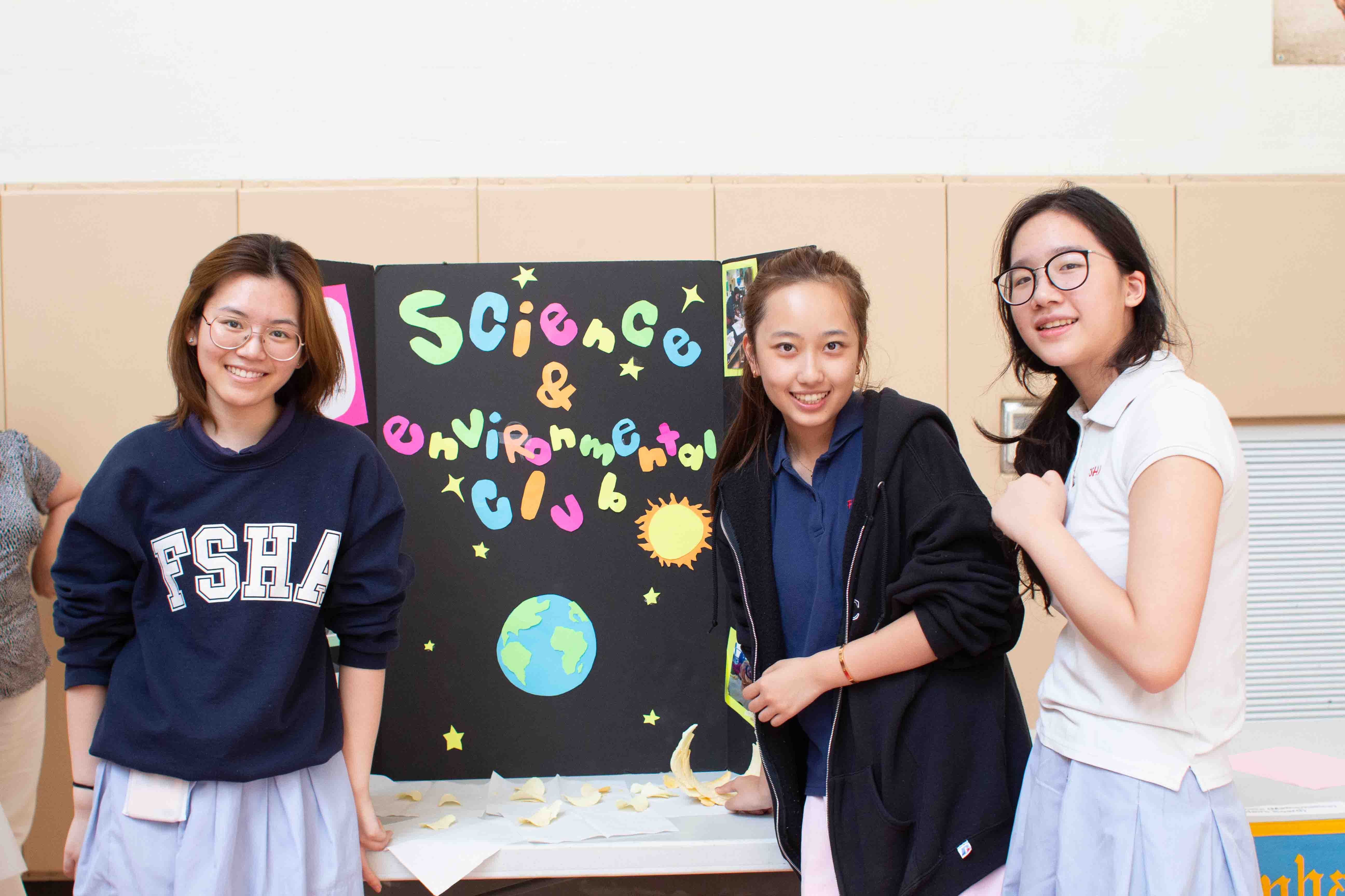 science and environment club at Flintridge Sacred Heart